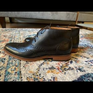 Johnston and Murphy oxford boots